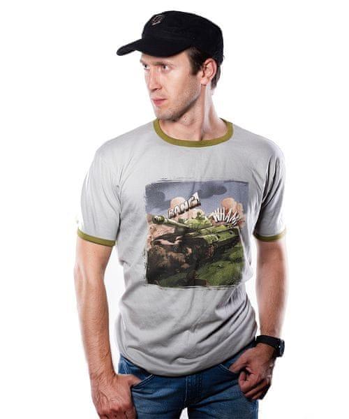 Tričko World of Tanks - Comics Tank (velikost M)
