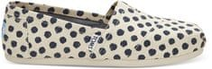 Toms Dámske Slip-On Polka Dot Seasonal Class ic s Alpargata s