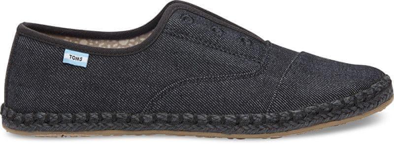 2fd2b63301a Toms Dámské černé boty Black on Black Palmera Slip-on (Velikost 41)