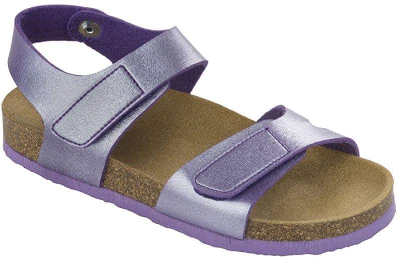 a27f86c671e1 Scholl Dětské sandále Dinder Kid Bioprint Lilac F265691033 (Velikost 27)