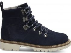 Toms Kobiety Niebieskie zamszowe buty nVY Wp Summit