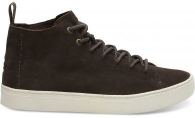 Toms Férfi barna cipők Suede Chocolate Brown Lenox (méret 42)