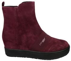 Fornarina Dámske členkové topánky Meti - Brodeaux Cow Suede Wo`s Ankle Boot  PI18MJ1070S072 6f0d9fa2a60