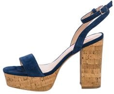Fornarina Női cipő Mina Navy Kid Suede Wo`s Sandal