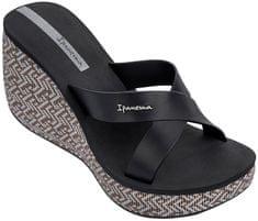 Ipanema Dámské pantofle Lipstick Straps IV Fem 82288-20766 Black/Black
