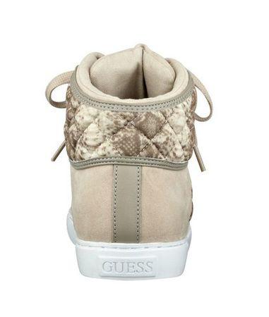 9e1e893cb4 Guess Tenisky Revere Tweed High-Top Sneakers natural (Veľkosť 39 ...