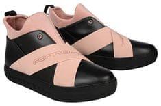 Fornarina Dámské kotníkové boty Yuma - Black/Nude Nappa/Lycra Wo`s Shoe PI18YM1063CC00