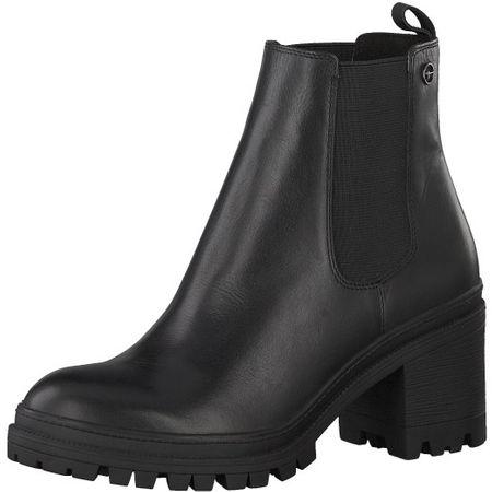 Tamaris Dámské kotníkové boty 1-1-25417-21-001 Black (Velikost 38)