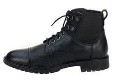 Geox Pánske členkové topánky Kapsian Ebony U743PA-00023-C6027