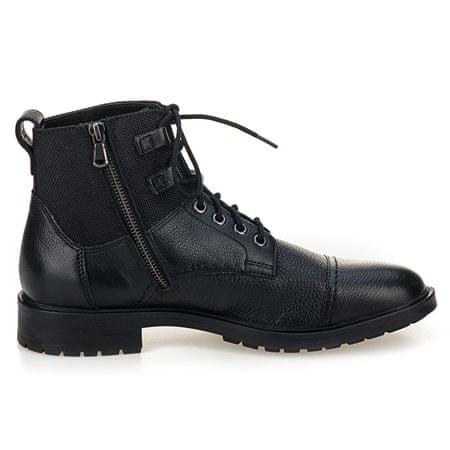 d3df04a1c52 Pánské kotníkové boty Kapsian Ebony U743PA-00023-C6027 (Velikost 41)