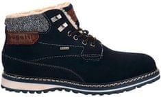 BUGATTI Férfi bőr bokacipő 321607501400-4100 Dark Blue