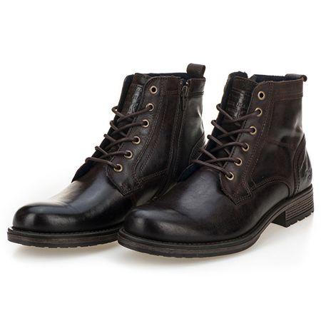 Mustang Pánské kotníkové boty 4865507-32 Dunkelbraun (Velikost 45 ... 47207ddda1