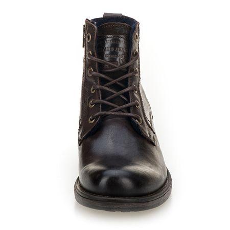 Mustang Pánské kotníkové boty 4865507-32 Dunkelbraun (Velikost 43 ... 22482eae02