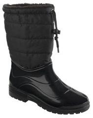 Scholl Dámske čižmy s kožušinkou Vestman Memory Cushion Black F260281004