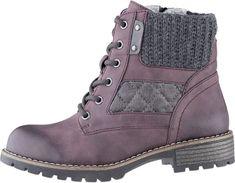 Dámske členkové topánky 8-8-26210-21 549 Bordeaux