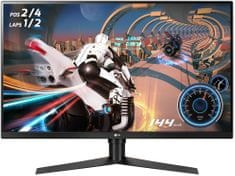 LG 32GK650F-B monitor, 80 cm (31,5), VA, QHD, FreeSync, 144 Hz