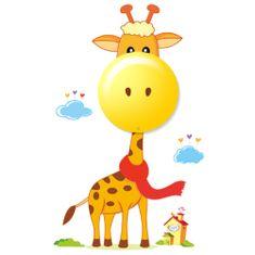 """Milagro Dětské nástěnné noční LED svítidlo 114 """"Žirafa"""""""
