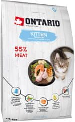 Ontario Kitten Salmon 6,5 kg