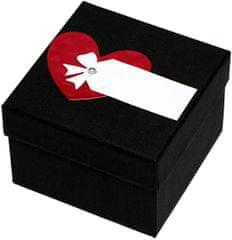 Luxusní dárková krabička s červeným srdíčkem