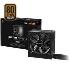 Be quiet! napajalnik ATX System Power 9, 80Plus Bronze, 700 W