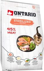 Ontario Cat Sterilised 7+ 2kg
