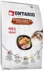 Ontario Cat Sterilised 7+ 6,5kg