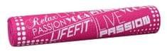 LIFEFIT SLIMFIT PLUS 173x61x0,6 cm světle růžová
