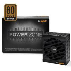Be quiet! modularni napajalnik ATX Power Zone, 80Plus Bronze, 750 W CM