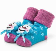 Attractive dívčí ponožky se sněhulákem