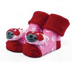 Attractive dívčí ponožky s liškou