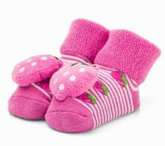 Attractive dívčí ponožky s jahůdkou