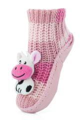 Attractive dívčí ponožky s kravičkou