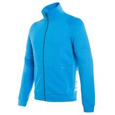 Dainese pánská mikina na zip DAINESE FULL-ZIP SWEATSHIRT modrá
