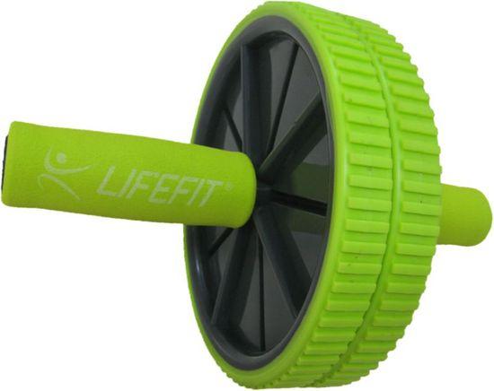 LIFEFIT Duo kolo za krepitev trebušnih mišic, zeleno