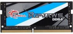 G.Skill pomnilnik (RAM) Ripjaws 4 GB, DDR4, 2666 MHz, SO-DIMM (F4-2666C18S-4GRS)