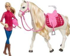 Mattel Barbie i interaktywny koń