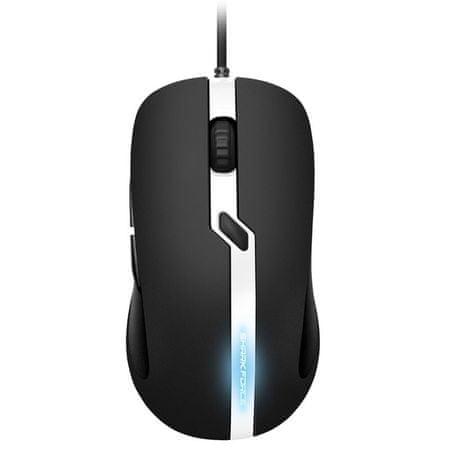 Sharkoon gaming optična miška Shark Force Pro, USB, črna