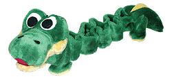 Tommi igračka za psa Bungee toy, 58-78cm, krokodil
