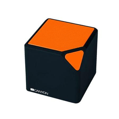 Canyon prenosni Bluetooth stereo zvočnik CNE-CBTSP2BO, oranžna