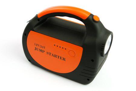 Doca Powerbank 30 000 mAh, 24 V fekete/narancssárga