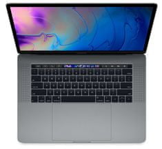 Apple prenosnik MacBook Pro 15 Touch Bar/i7 2,2GHz/16GB/SSD256GB/RadeonPro555X/macOS, Space Grey - SLO KB