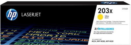 HP toner LaserJet 203X, rumen