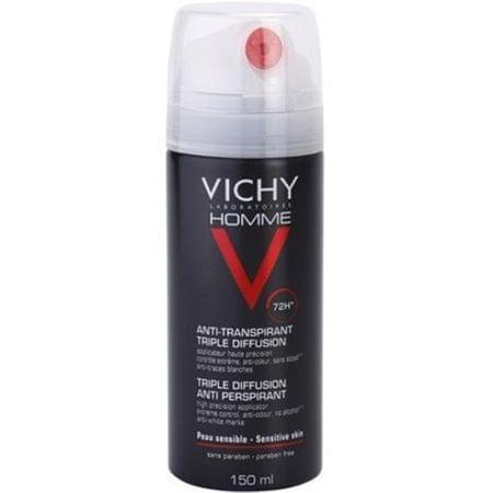 Vichy Dezodor spray 72h Homme (Triple Diffusion Anti izzadásgátló) 150 ml