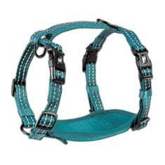 Alcott Reflexní postroj pro psy, modrá L