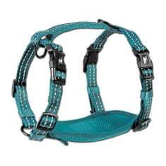 Alcott Reflexný postroj pre psy, modrá M - rozbalené