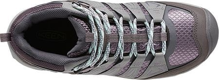 14a0a44a7c1 KEEN Dámské boty Oakridge Mid WP Gray Shark (Velikost 37)