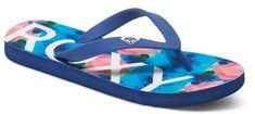 Roxy Dámské žabky Playa Blue/White Print ARJL100557-UWP