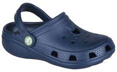 Coqui Dětské pantofle Big Frog 8101 Navy 100968