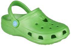 Coqui Kapcie dziecięce Big Frog Lime 8101-100-1400