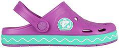 Coqui Detské šľapky Froggy 8801 New purple/mint 101970